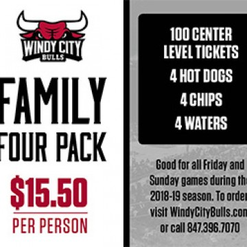 Windy City Bulls 4-Pack